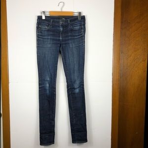 Wilfred free dark wash skinny jeans Sz 25